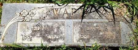 WARD, EARL B - Sebastian County, Arkansas | EARL B WARD - Arkansas Gravestone Photos