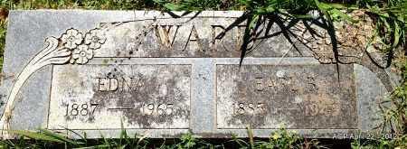 WARD, EDNA - Sebastian County, Arkansas   EDNA WARD - Arkansas Gravestone Photos