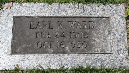 WARD, EARL K. - Sebastian County, Arkansas | EARL K. WARD - Arkansas Gravestone Photos