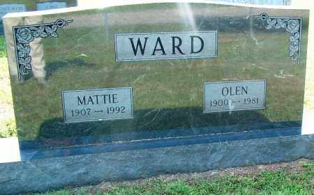 WARD, OLEN - Sebastian County, Arkansas | OLEN WARD - Arkansas Gravestone Photos