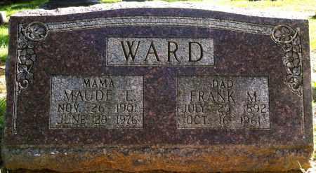 WARD, FRANK M - Sebastian County, Arkansas | FRANK M WARD - Arkansas Gravestone Photos