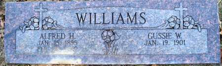 WILLIAMS, ALFRED H - Sebastian County, Arkansas | ALFRED H WILLIAMS - Arkansas Gravestone Photos