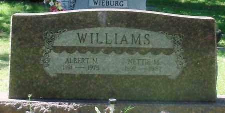 WILLIAMS, NETTIE MAY - Sebastian County, Arkansas | NETTIE MAY WILLIAMS - Arkansas Gravestone Photos