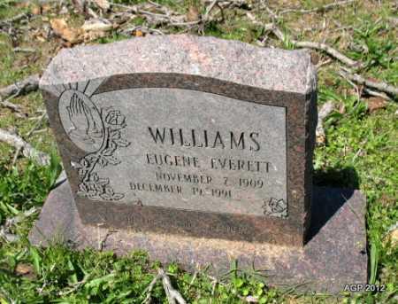 WILLIAMS, EUGENE EVERETT - Sebastian County, Arkansas   EUGENE EVERETT WILLIAMS - Arkansas Gravestone Photos