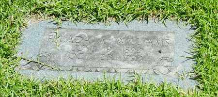 WILLIAMS, FREADA A - Sebastian County, Arkansas   FREADA A WILLIAMS - Arkansas Gravestone Photos