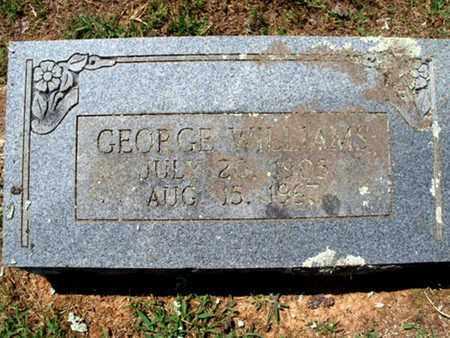 WILLIAMS, GEORGE ALBERT - Sebastian County, Arkansas | GEORGE ALBERT WILLIAMS - Arkansas Gravestone Photos