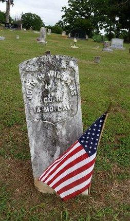 WILLIAMS  (VETERAN UNION), JOHN HENRY - Sebastian County, Arkansas | JOHN HENRY WILLIAMS  (VETERAN UNION) - Arkansas Gravestone Photos
