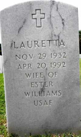 WILLIAMS, LAURETTA - Sebastian County, Arkansas | LAURETTA WILLIAMS - Arkansas Gravestone Photos