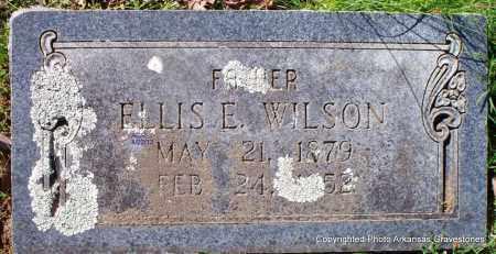 WILSON, ELLIS E - Sebastian County, Arkansas   ELLIS E WILSON - Arkansas Gravestone Photos