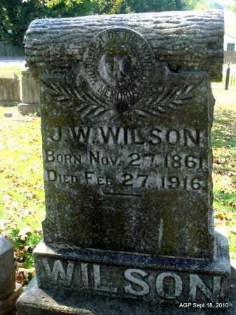 WILSON, J W - Sebastian County, Arkansas | J W WILSON - Arkansas Gravestone Photos