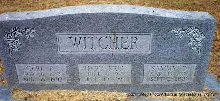 WITCHER, CARL R - Sebastian County, Arkansas | CARL R WITCHER - Arkansas Gravestone Photos