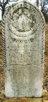 WITCHER, FANNIE - Sebastian County, Arkansas | FANNIE WITCHER - Arkansas Gravestone Photos