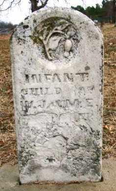 WITCHER, INFANT CHILD - Sebastian County, Arkansas   INFANT CHILD WITCHER - Arkansas Gravestone Photos