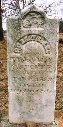 WITCHER, ROBERT E. LEE - Sebastian County, Arkansas | ROBERT E. LEE WITCHER - Arkansas Gravestone Photos