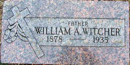 WITCHER, WILLIAM A - Sebastian County, Arkansas   WILLIAM A WITCHER - Arkansas Gravestone Photos