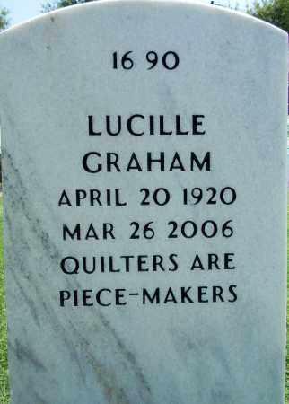 GRAHAM, LUCILLE - Sebastian County, Arkansas   LUCILLE GRAHAM - Arkansas Gravestone Photos