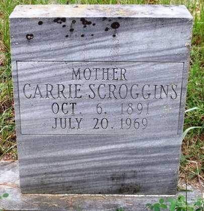 SCROGGINS, CARRIE - Sevier County, Arkansas | CARRIE SCROGGINS - Arkansas Gravestone Photos