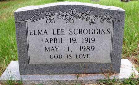 SCROGGINS, ELMA LEE - Sevier County, Arkansas | ELMA LEE SCROGGINS - Arkansas Gravestone Photos