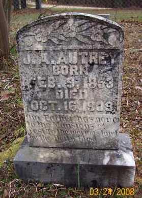 AUTREY, J A - Sevier County, Arkansas   J A AUTREY - Arkansas Gravestone Photos