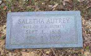 AUTREY, SALETHA - Sevier County, Arkansas | SALETHA AUTREY - Arkansas Gravestone Photos