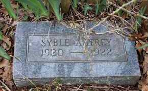 AUTREY, SYBLE - Sevier County, Arkansas | SYBLE AUTREY - Arkansas Gravestone Photos