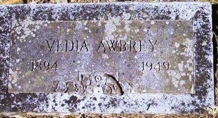 AWBREY, VEDIA - Sevier County, Arkansas | VEDIA AWBREY - Arkansas Gravestone Photos