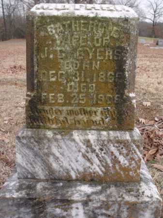 BYERS, CATHERINE - Sevier County, Arkansas   CATHERINE BYERS - Arkansas Gravestone Photos