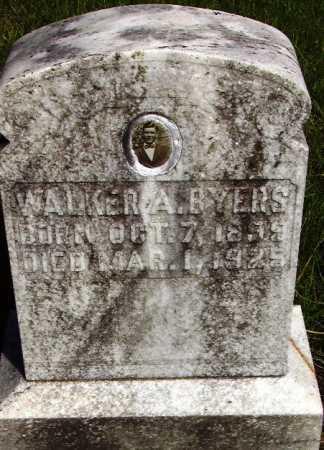 BYERS, WALKER A - Sevier County, Arkansas | WALKER A BYERS - Arkansas Gravestone Photos