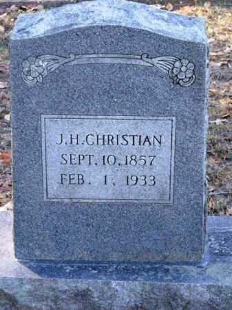 CHRISTIAN, J H - Sevier County, Arkansas | J H CHRISTIAN - Arkansas Gravestone Photos