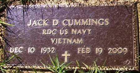 CUMMINGS (VETERAN VIET), JACK D - Sevier County, Arkansas | JACK D CUMMINGS (VETERAN VIET) - Arkansas Gravestone Photos