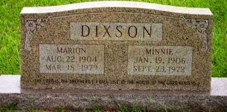 DIXSON, MARION - Sevier County, Arkansas | MARION DIXSON - Arkansas Gravestone Photos