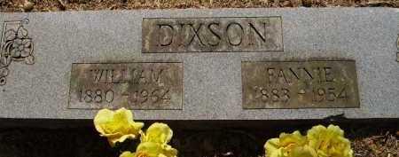 DIXSON, FANNIE - Sevier County, Arkansas | FANNIE DIXSON - Arkansas Gravestone Photos