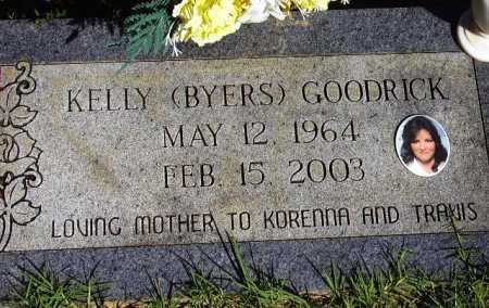 BYERS GOODRICK, KELLY - Sevier County, Arkansas | KELLY BYERS GOODRICK - Arkansas Gravestone Photos