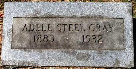 STEEL GRAY, ADELE - Sevier County, Arkansas | ADELE STEEL GRAY - Arkansas Gravestone Photos