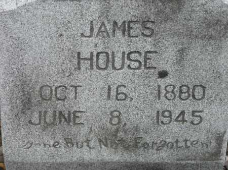 HOUSE, JAMES (CLOSE UP) - Sevier County, Arkansas | JAMES (CLOSE UP) HOUSE - Arkansas Gravestone Photos