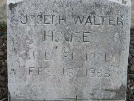 HOUSE, JOSEPH WALTER - Sevier County, Arkansas | JOSEPH WALTER HOUSE - Arkansas Gravestone Photos