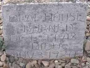 HOUSE, OPAL - Sevier County, Arkansas | OPAL HOUSE - Arkansas Gravestone Photos