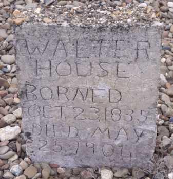 HOUSE, WALTER - Sevier County, Arkansas | WALTER HOUSE - Arkansas Gravestone Photos