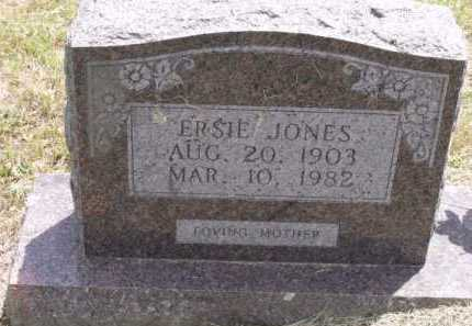 JONES, ERSIE - Sevier County, Arkansas | ERSIE JONES - Arkansas Gravestone Photos