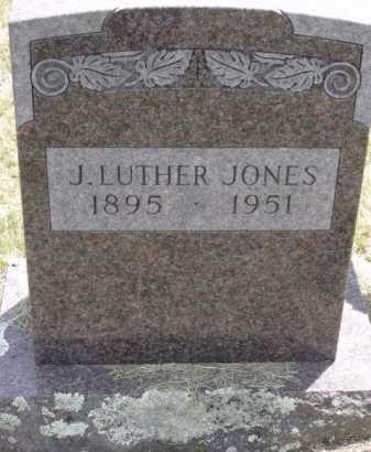 JONES, J LUTHER - Sevier County, Arkansas | J LUTHER JONES - Arkansas Gravestone Photos