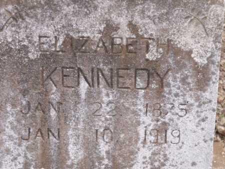 KENNEDY, ELIZABETH (CLOSE UP) - Sevier County, Arkansas | ELIZABETH (CLOSE UP) KENNEDY - Arkansas Gravestone Photos