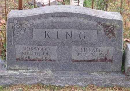 KING, LILLABEL - Sevier County, Arkansas | LILLABEL KING - Arkansas Gravestone Photos