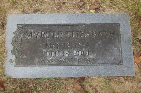 LARSON, MYRTLE ELIZABETH - Sevier County, Arkansas | MYRTLE ELIZABETH LARSON - Arkansas Gravestone Photos