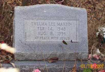 MARTIN, THELMA LEE - Sevier County, Arkansas | THELMA LEE MARTIN - Arkansas Gravestone Photos