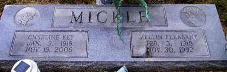MICKLE, MELVIN PLEASANT - Sevier County, Arkansas   MELVIN PLEASANT MICKLE - Arkansas Gravestone Photos