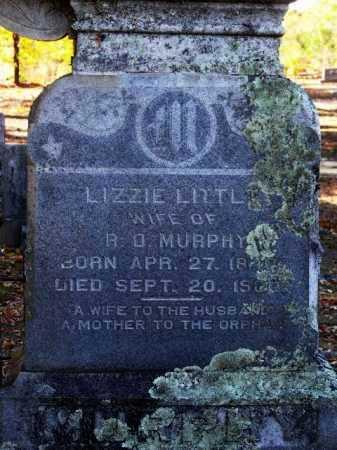 MURPHY, LIZZIE (CLOSE UP) - Sevier County, Arkansas | LIZZIE (CLOSE UP) MURPHY - Arkansas Gravestone Photos