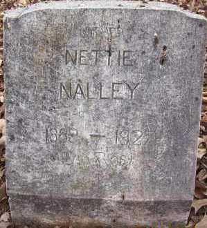 NALLEY, NETTIE - Sevier County, Arkansas | NETTIE NALLEY - Arkansas Gravestone Photos
