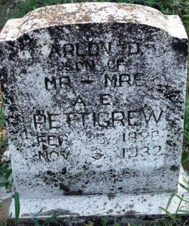 PETTIGREW, ARLON D - Sevier County, Arkansas   ARLON D PETTIGREW - Arkansas Gravestone Photos