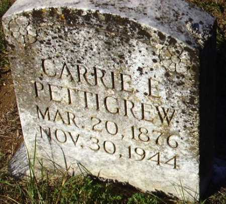 PETTIGREW, CARRIE E - Sevier County, Arkansas | CARRIE E PETTIGREW - Arkansas Gravestone Photos