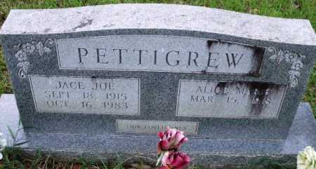 PETTIGREW, JACE JOE - Sevier County, Arkansas | JACE JOE PETTIGREW - Arkansas Gravestone Photos
